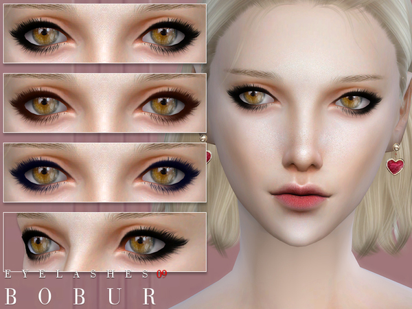 Eyelashes 09 by Bobur3 at TSR image 271 Sims 4 Updates