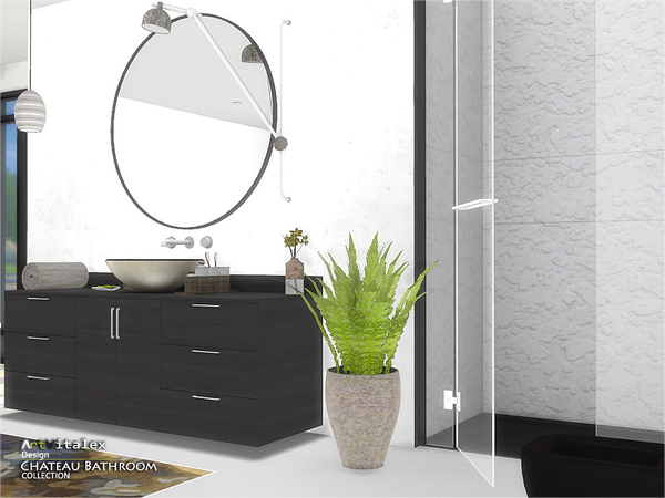 Chateau Bathroom by ArtVitalex at TSR image 2712 Sims 4 Updates