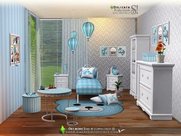 Delicata Kids room at TSR image 2720 Sims 4 Updates