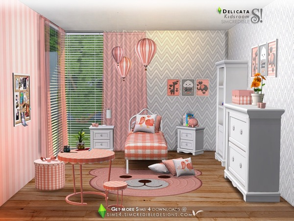 Delicata Kids room at TSR image 2820 Sims 4 Updates