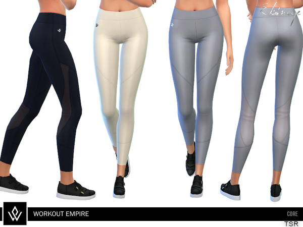 Sims 4 Core Tech Tights by ekinege at TSR