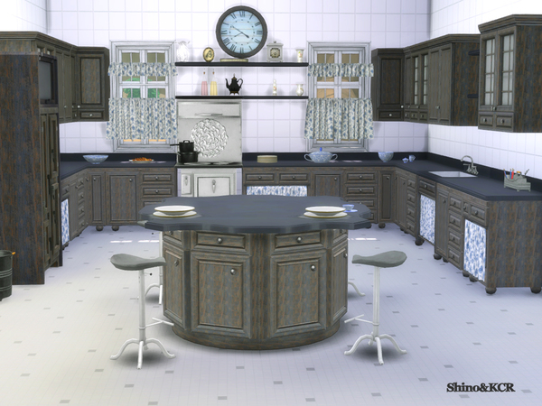 Kitchen Country by ShinoKCR at TSR image 285 Sims 4 Updates