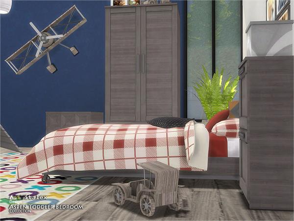 Aspen Toddler Bedroom by ArtVitalex at TSR image 2913 Sims 4 Updates