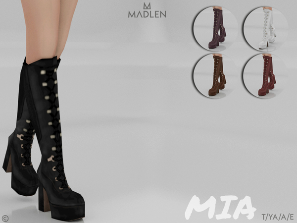 Madlen Mia Boots by MJ95 at TSR image 2919 Sims 4 Updates