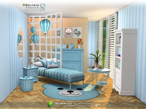 Delicata Kids room at TSR image 2920 Sims 4 Updates