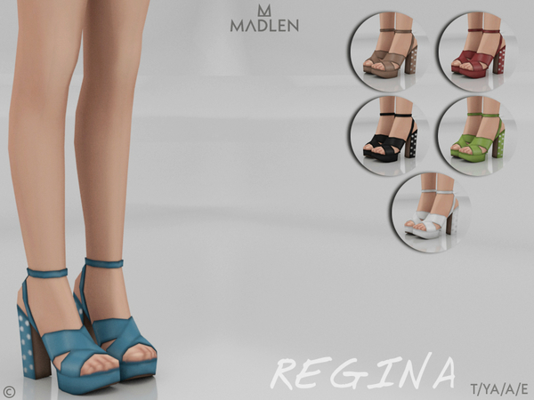 Sims 4 Madlen Regina Shoes by MJ95 at TSR
