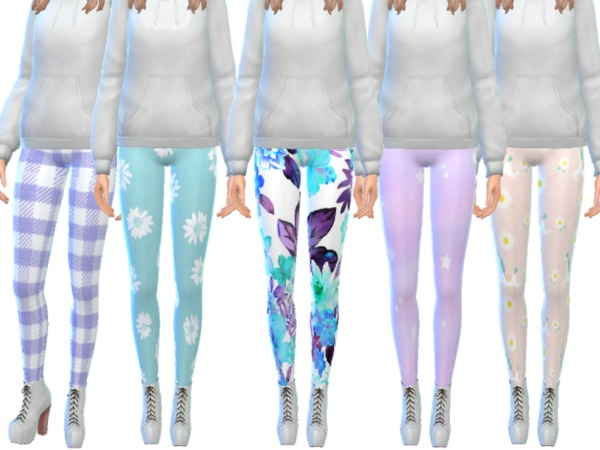 Tumblr Themed Leggings Pack Thirteen by Wicked Kittie at TSR image 3017 Sims 4 Updates