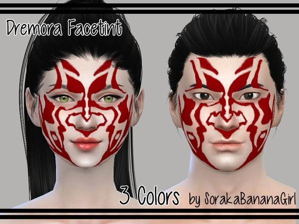 Dremora Facetint by SorakaBananaGirl at TSR image 3018 Sims 4 Updates