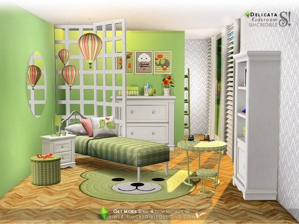 Delicata Kids room at TSR image 3020 Sims 4 Updates