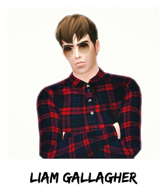 Liam Gallagher by UltraviolentFawn at Mod The Sims image 303 670x783 Sims 4 Updates