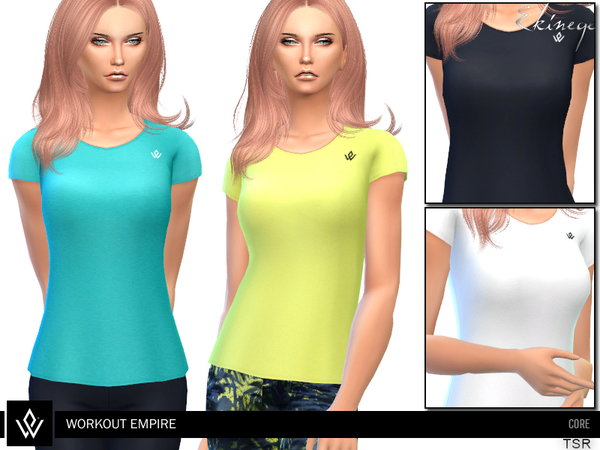 Sims 4 Core Tee by ekinege at TSR