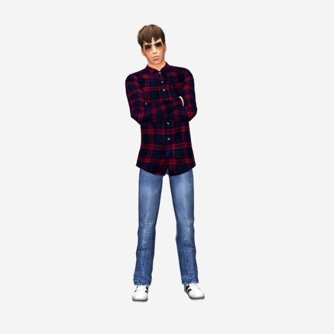 Liam Gallagher by UltraviolentFawn at Mod The Sims image 315 670x670 Sims 4 Updates