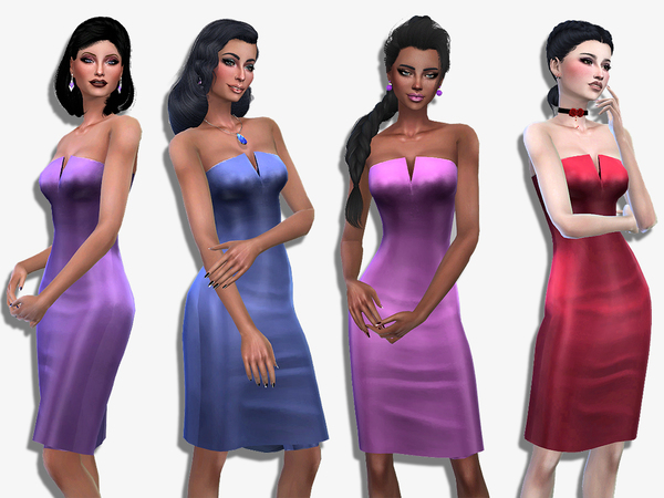 Sophie dress by Simalicious at TSR image 320 Sims 4 Updates