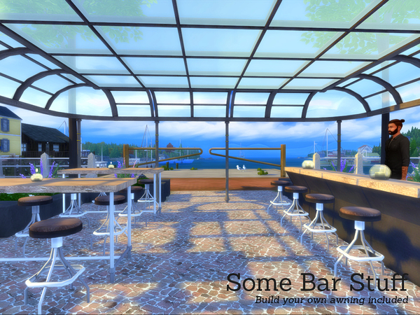 Some Bar Stuff by Angela at TSR image 3215 Sims 4 Updates