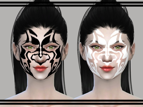 Dremora Facetint by SorakaBananaGirl at TSR image 3220 Sims 4 Updates