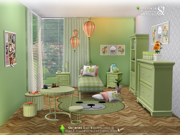 Delicata Kids room at TSR image 3222 Sims 4 Updates