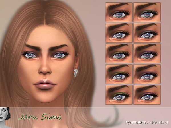 Eyeshadow ES Nr. 4 by Jaru Sims at TSR image 329 Sims 4 Updates