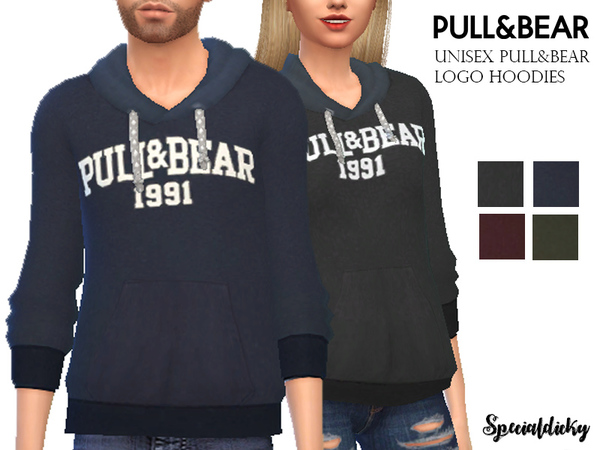 Logo Hoodie by specialdicky at TSR image 3410 Sims 4 Updates