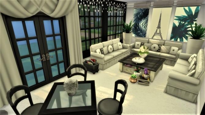 Sims 4 Paris Chic livingroom at Agathea k