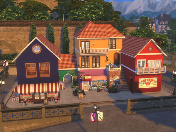 Small Village NO CC by residentsim at TSR image 3510 Sims 4 Updates