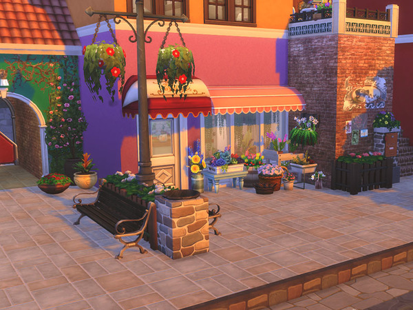 Small Village NO CC by residentsim at TSR image 3611 Sims 4 Updates