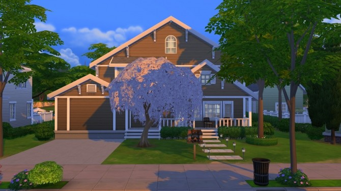4356 Wisteria Lane (NO CC) by LianZiemas at Mod The Sims image 3614 670x377 Sims 4 Updates