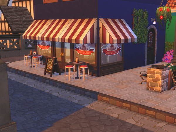 Small Village NO CC by residentsim at TSR image 3711 Sims 4 Updates