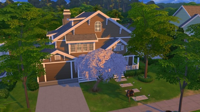 4356 Wisteria Lane (NO CC) by LianZiemas at Mod The Sims image 3714 670x377 Sims 4 Updates