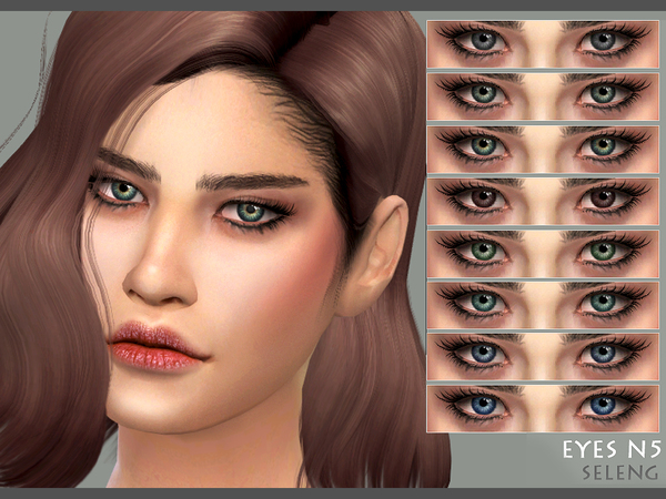 Sims 4 Eyes N5  by Seleng at TSR