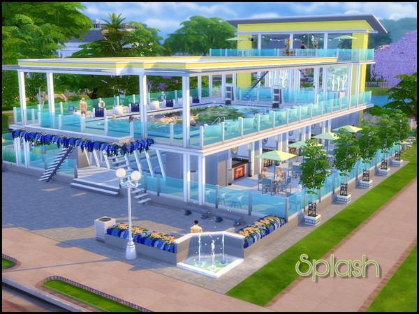 Splash large community pool by sparky at TSR image 3910 Sims 4 Updates