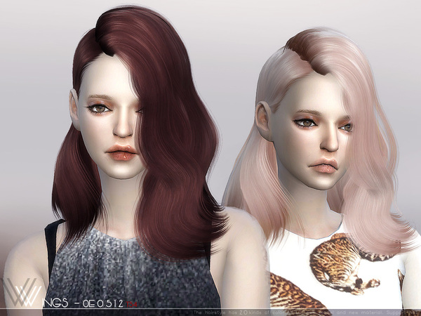 Hair OE0512 by wingssims at TSR image 398 Sims 4 Updates