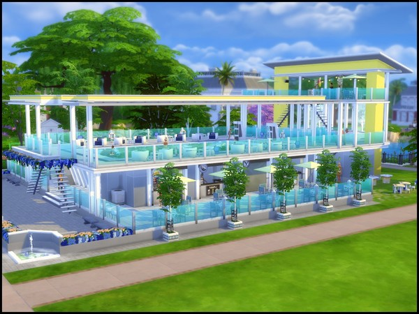 Splash large community pool by sparky at TSR image 4010 Sims 4 Updates