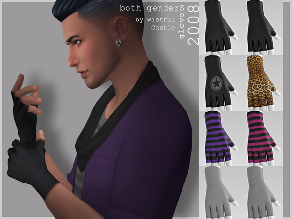 2008 gloves by WistfulCastle at TSR image 410 Sims 4 Updates