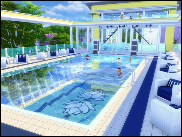 Splash large community pool by sparky at TSR image 4115 Sims 4 Updates
