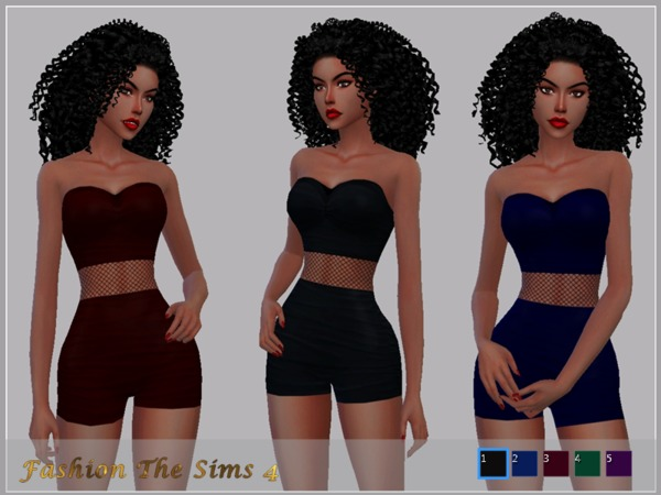 Sims 4 Outfit Maia by LYLLYAN at TSR
