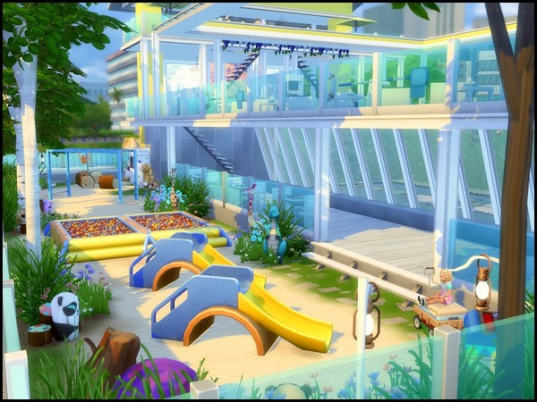 Splash large community pool by sparky at TSR image 4213 Sims 4 Updates