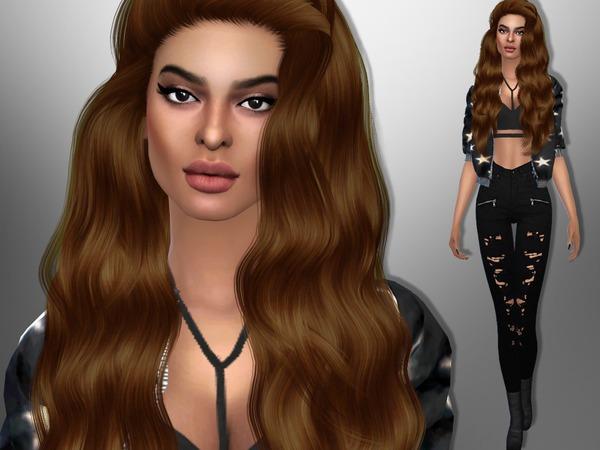 Sims 4 Eleni Foureira by divaka45 at TSR