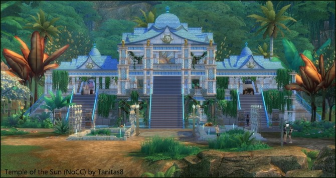 Temple of the Sun NoCC museum at Tanitas8 Sims image 4312 670x356 Sims 4 Updates