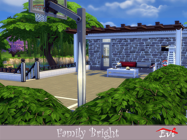 Sims 4 Family Bright by evi at TSR