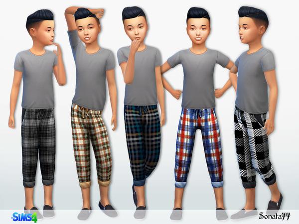 Sims 4 S77 boy 28 pants by Sonata77 at TSR