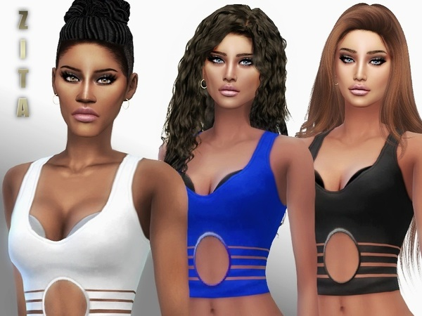 O Top by ZitaRossouw at TSR image 440 Sims 4 Updates
