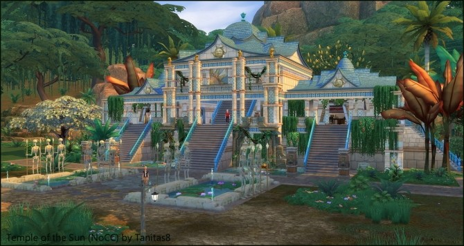 Temple of the Sun NoCC museum at Tanitas8 Sims image 4513 670x356 Sims 4 Updates