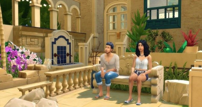 Alessia et Phoenix Thady by Angerouge at Studio Sims Creation image 453 670x355 Sims 4 Updates