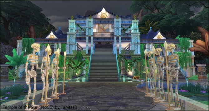 Temple of the Sun NoCC museum at Tanitas8 Sims image 4613 670x356 Sims 4 Updates