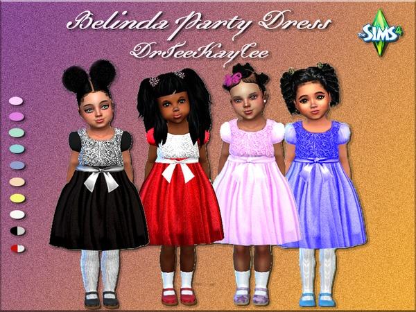 Belinda Party Dress by drteekaycee at TSR image 4722 Sims 4 Updates
