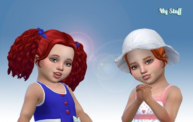 Sims 4 Poppy Hair at My Stuff