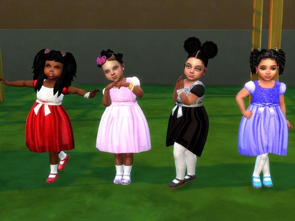 Belinda Party Dress by drteekaycee at TSR image 4822 Sims 4 Updates