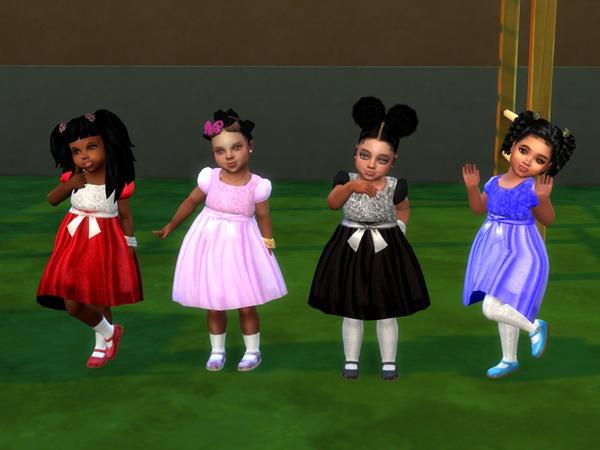 Belinda Party Dress by drteekaycee at TSR image 4921 Sims 4 Updates