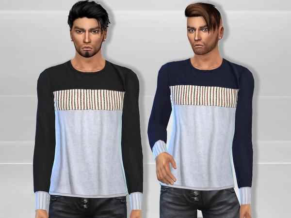 Sims 4 Adam Shirt by Puresim at TSR