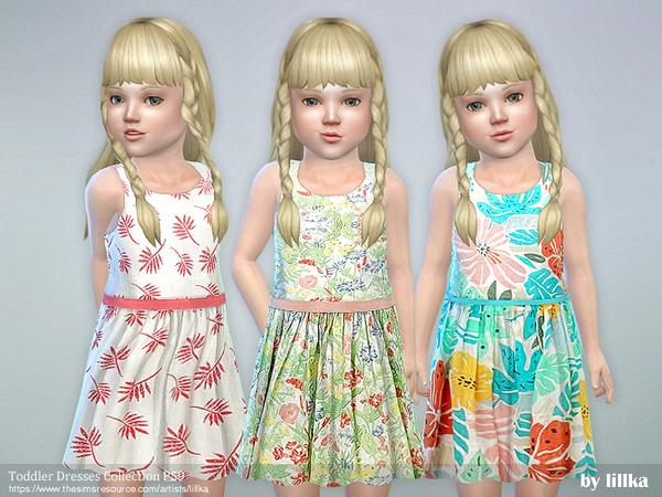 Sims 4 Toddler Dresses Collection P59 by lillka at TSR